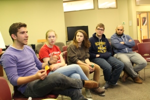 Focus group at Youth for Christ